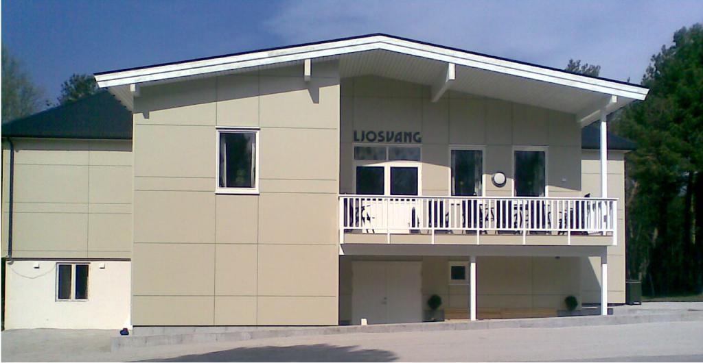 Ungdomshuset Ljosvang slik det fremsto etter renoveringen i 2008